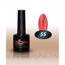 Гель лак для ногтей Nice основная палитра О-55