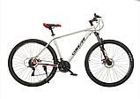 """Велосипед Oskar 29"""" M126 білий, фото 2"""