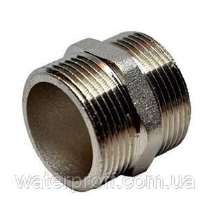 """Ниппель Lexline никель 1 1/2"""", фото 2"""