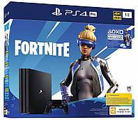 Игровая приставка Sony PlayStation 4 Pro 1 TB + Fortnite Royale Bundle консоль