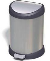 "20L Контейнер для мусора металлизированный ""DECO BIN"""