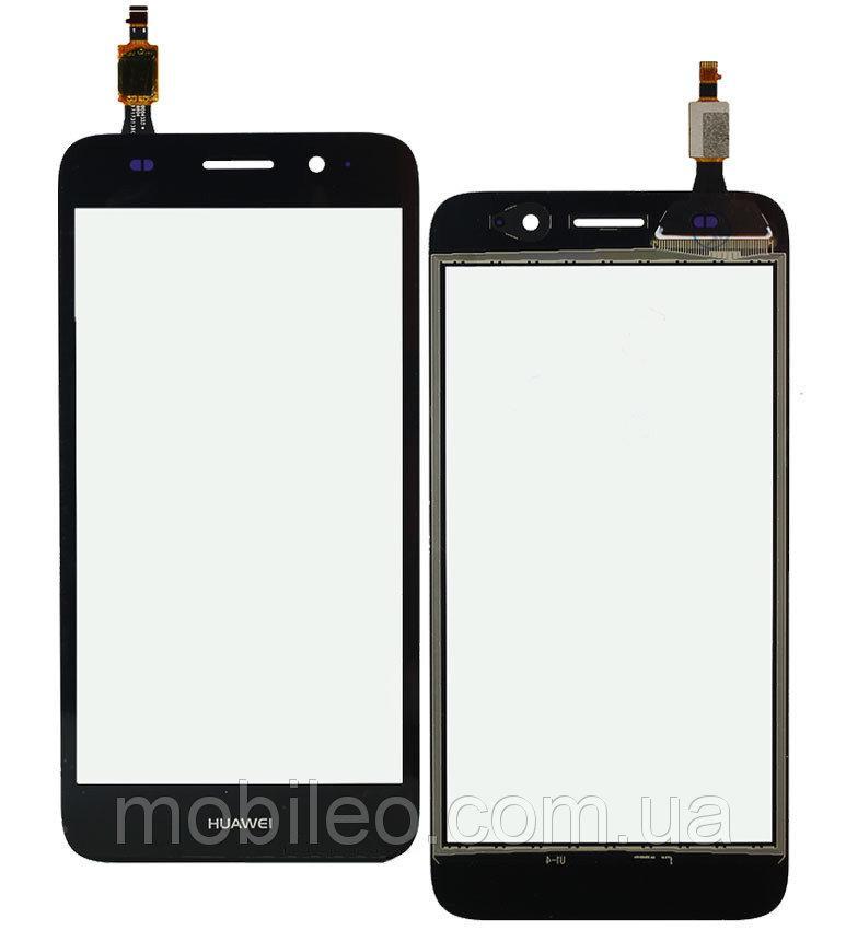 Сенсорный экран (тачскрин) Huawei Y3 (2017) | Y5 lite (2017) black