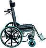 Коляска инвалидная, многофункциональная, с санитарным оснащением, без двигателя (Golfi-4), фото 2
