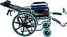 Коляска инвалидная, многофункциональная, с санитарным оснащением, без двигателя (Golfi-4), фото 3