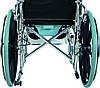 Коляска инвалидная, многофункциональная, с санитарным оснащением, без двигателя (Golfi-4), фото 6