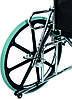 Коляска инвалидная, многофункциональная, с санитарным оснащением, без двигателя (Golfi-4), фото 7