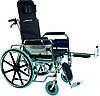 Коляска инвалидная, многофункциональная, с санитарным оснащением, без двигателя (Golfi-4), фото 8