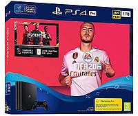 Игровая приставка Sony PlayStation 4 Pro 1 TB + FIFA 20 консоль, фото 1