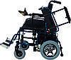 Коляска инвалидная, с двигателем, складная (JT-101), фото 2