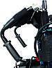 Коляска инвалидная, с двигателем, складная (JT-101), фото 5
