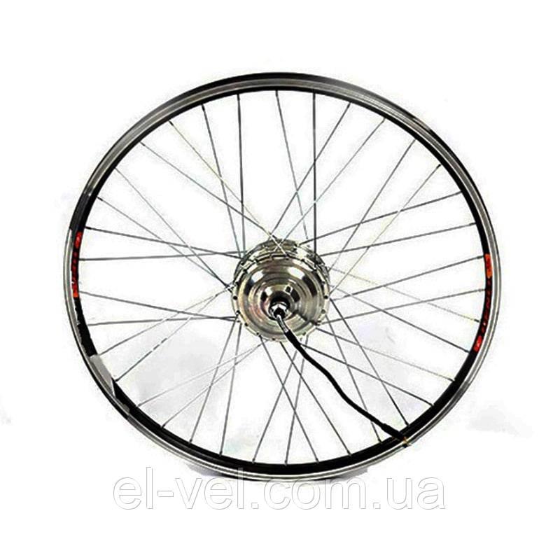 Заспицованное мотор-колесо MXUS ZWG XF04 36В 300Вт редукторное, переднее