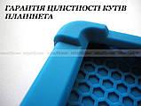 Синий резиновый чехол бампер Lenovo Yoga Smart Tab YT-X705L X705F, фото 2