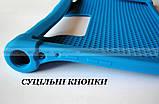 Синий резиновый чехол бампер Lenovo Yoga Smart Tab YT-X705L X705F, фото 3