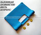 Синий резиновый чехол бампер Lenovo Yoga Smart Tab YT-X705L X705F, фото 4