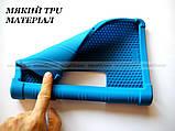Синий резиновый чехол бампер Lenovo Yoga Smart Tab YT-X705L X705F, фото 5