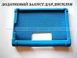 Синий резиновый чехол бампер Lenovo Yoga Smart Tab YT-X705L X705F, фото 8