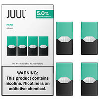Картриджи JUUL Cool Mint 4 шт.