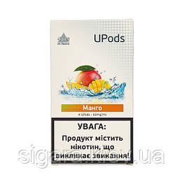 Картриджи Upods Cartridge 50 мг 0.7 мл 4 шт Манго