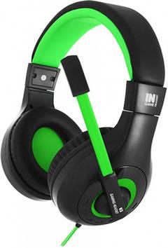 Наушники Gemix N3 Black-Green