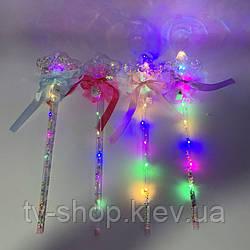 Светящаяся волшебная палочка Звезда хрустальная,40 см