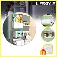 Органайзер диспенсер на холодильник 5 In 1 Magnetic Magpie Combination + ПОДАРОК!