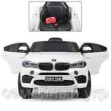 Детский электромобиль BMW X6M. Скорость: 3-5км\ч. Звуковые и световые эффекты. SD, USB. JJ2199EBLR-1, фото 2