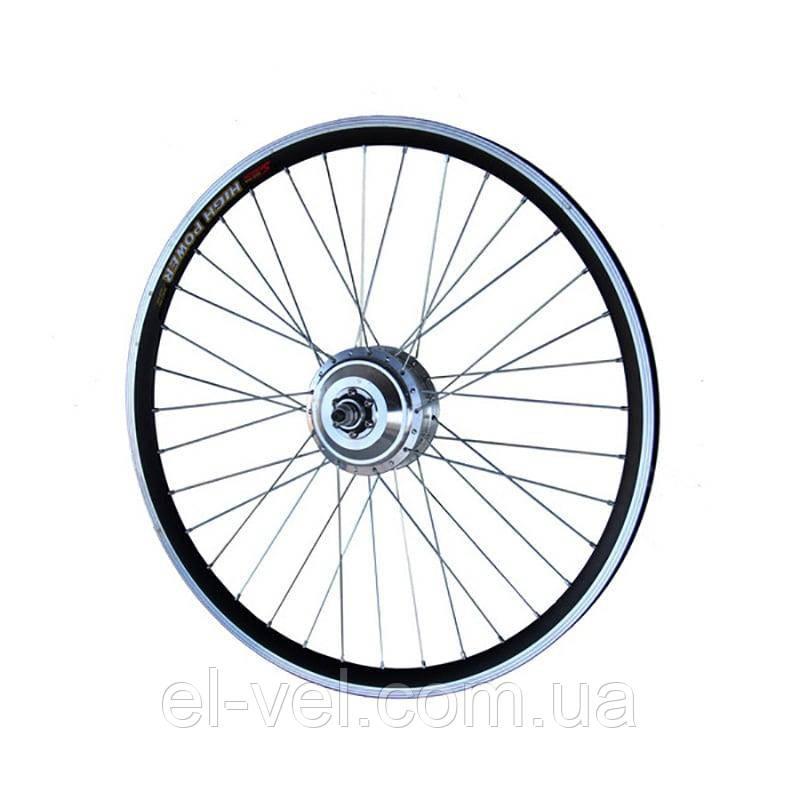 Заспицованное мотор-колесо MXUS ZWG XF06 36В 300Вт редукторное заднее