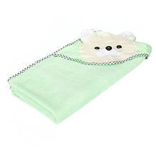 Полотенце-капюшон махровое 2p-31peach