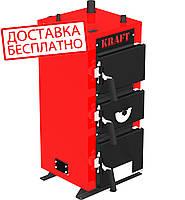 Твердотопливный котел KRAFT серия E, 24кВт, с автоматическим управлением