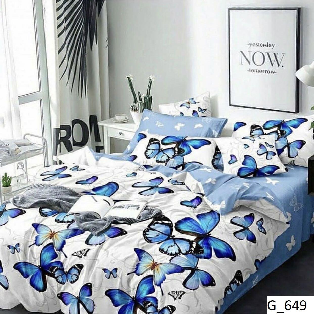 Семейное постельное бельё Голд бязь люкс