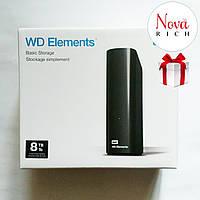 WD Elements 6TB Внешний жесткий диск. Оригинал