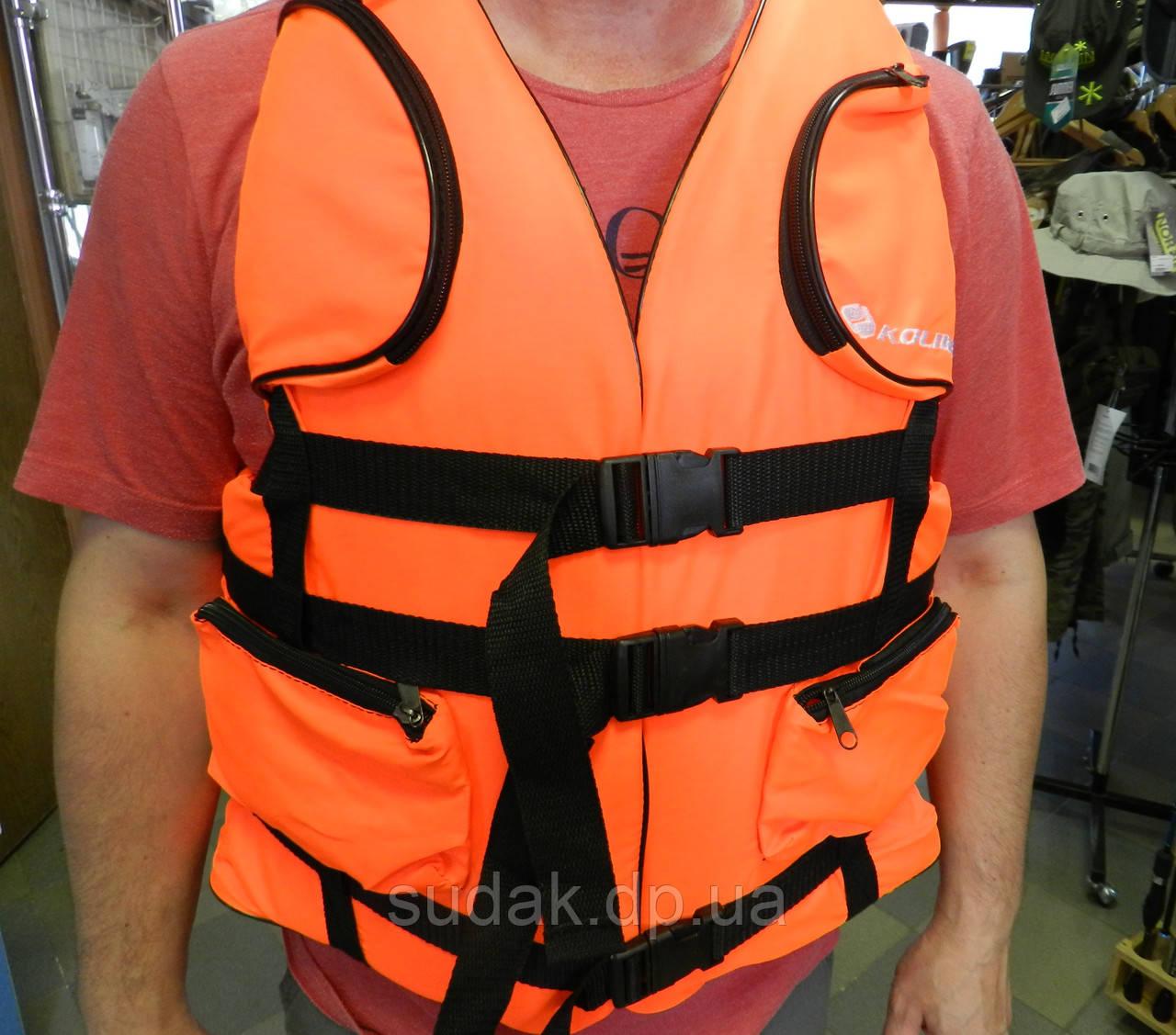Страхувальний Жилет (90-110кг), помаранчевий кг