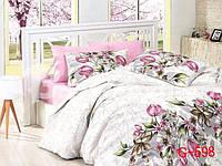 Красивое постельное бельё Тюльпан (двуспальное)