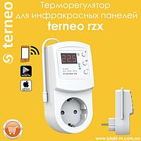 Wi-Fi Терморегулятор terneo rzx для инфракрасных панелей и конвекторов