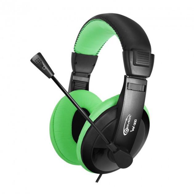 Навушники Gemix W-300 Black-Green