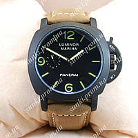 Часы мужские Panerai Luminor Marina Officine Black/Black-green 3801