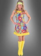 Женское карнавальное платье хиппи