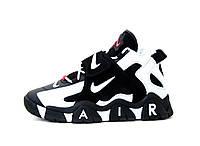 """Кроссовки мужские Nike Air Barrage """"Белые с черным"""" барадж найк аир р.41-46"""