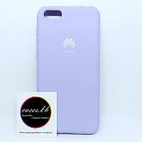 Силиконовый чехол - Full Silicone Cover на Huawei Y5 (2018) Лиловый  (Purple)