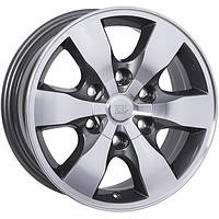 Литые диски WSP Italy Toyota (W1760) Sapporo W7 R16 PCD6x139.7 ET30 DIA106.1 anthracite polished
