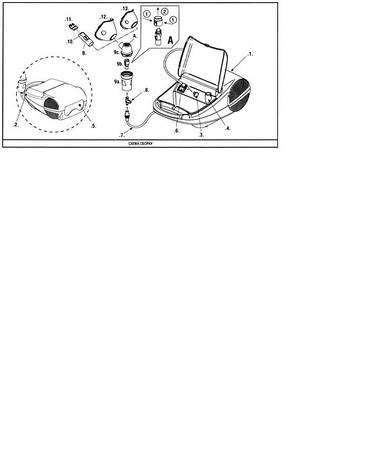 Ингалятор (небулайзер) компрессорный Дельфин (Италия), фото 2