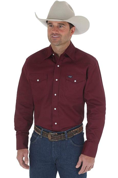 Рубашка на фланелевой подкладке Wrangler -Red