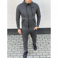 Спортивный костюм Puma 8330-26 зима темно серый зима XXL