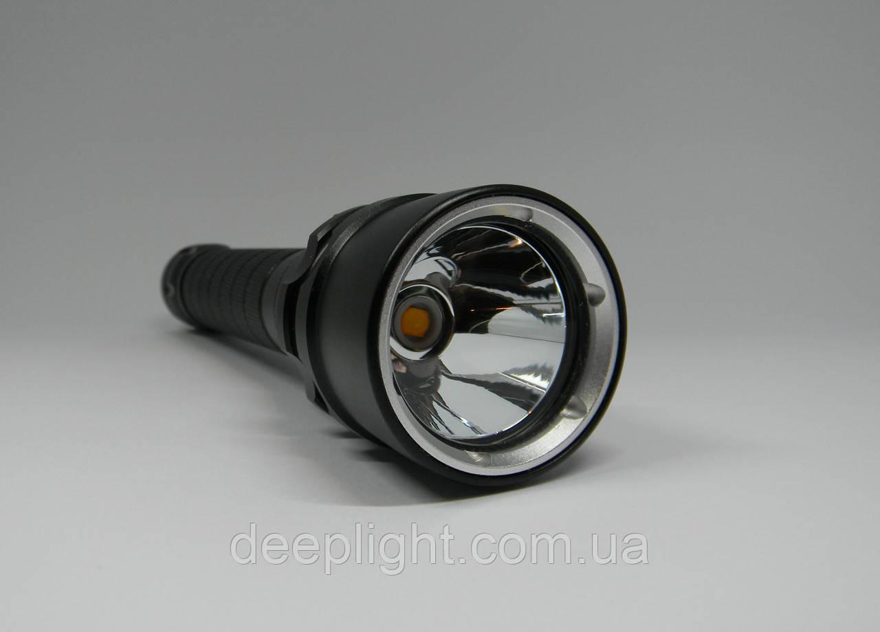 Підводний ліхтар Deeplight P50 з жовтим світлом на Cree XHP50.2 18W під 18650