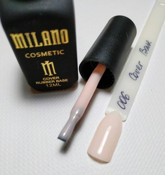 Каучуковое базовое покрытие Cover Base Milano №006 12ml