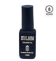 Каучуковое базовое покрытие для ногтей  Milano 12мл