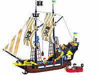 """Конструктор Briks """"Пиратский корабль"""" 560 деталей"""