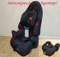 Автокресло универсальное Joy (от 9 до 36 кг) Чёрно-красное