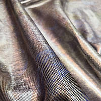 Трикотаж голограммный серебро сталь 3Д Отрез ткани 4 м по 100 грн.арт 126