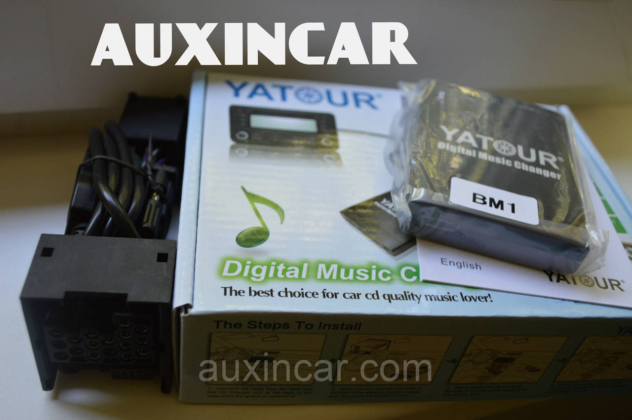 Mini Cooper usb aux sd card Yatour YTM06-BM1 17-pin Round для штат магнитолы